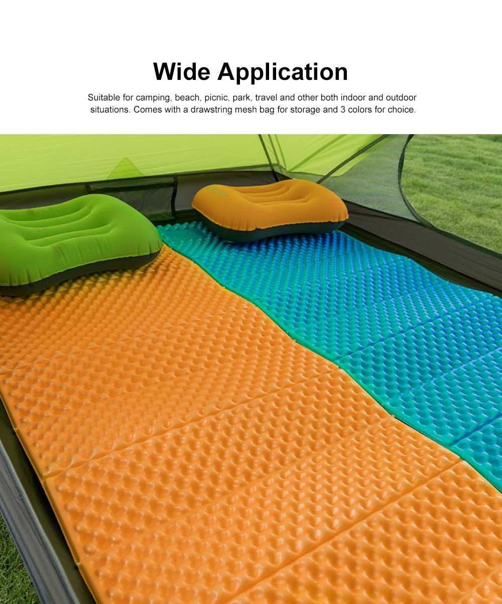 Moisture Proof Sleeping Pad, Portable Eva Aluminum Film Floor Mat, Seat Cushion Pad for Outdoor Camping Picnic 3