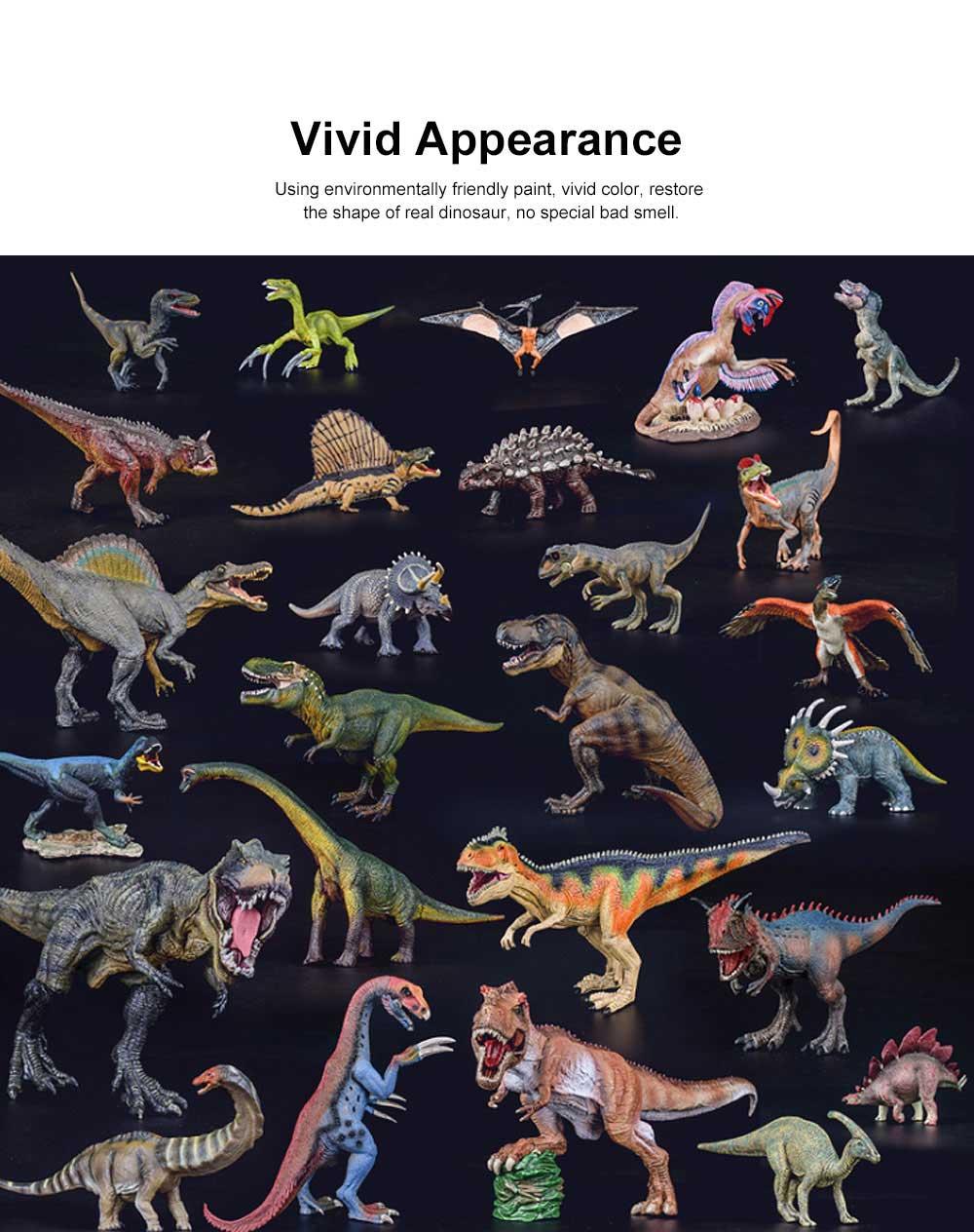 Simulation Halberd Dinosaur Toys, Solid No Stitching PVC Dinosaur Model, Educational Realistic Dinosaur Figures 3