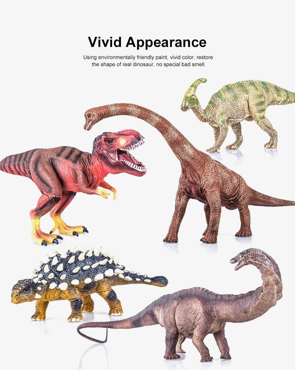 Simulation Dinosaur Toy Solid, No Stitching PVC Dinosaur Model, Educational Realistic Dinosaur Figure Tyrannosaurus Rex 2