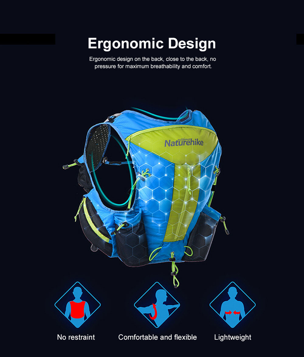 12L Sports Backpack, Ultralight Unisex Nylon Backpack, Hydration Pack Backpack for Travel Hiking Camping 3