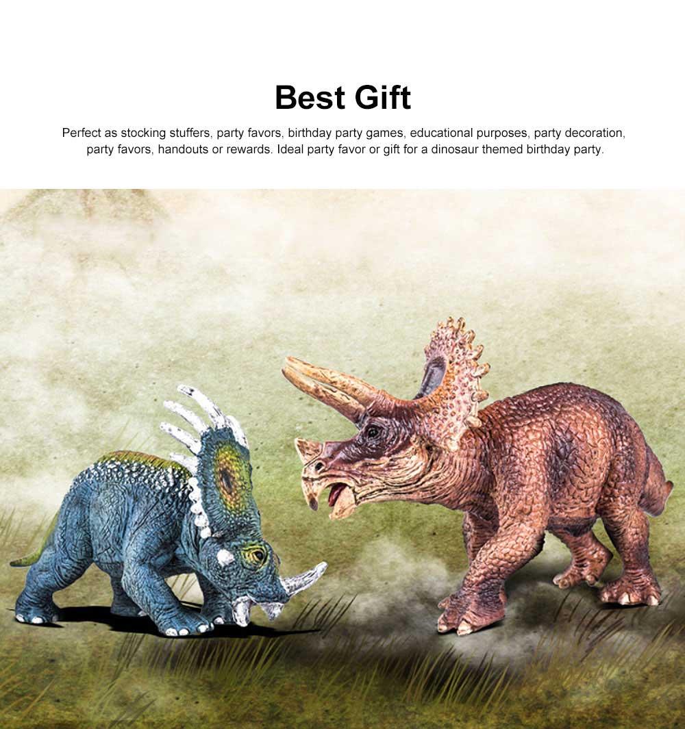 Simulation Halberd Dinosaur Toys, Solid No Stitching PVC Dinosaur Model, Educational Realistic Dinosaur Figures 1