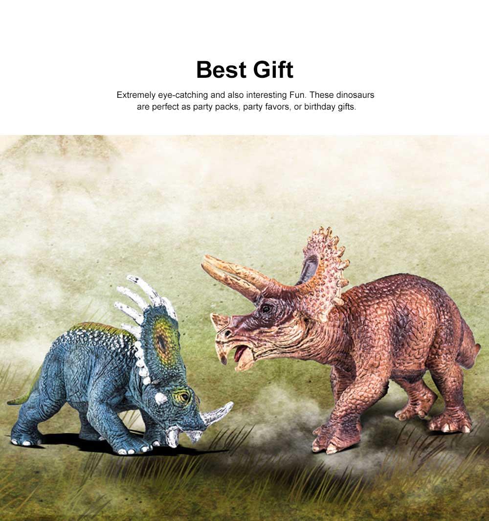 Simulation Dinosaur Toy Solid, No Stitching PVC Dinosaur Model, Educational Realistic Dinosaur Figure Tyrannosaurus Rex 1