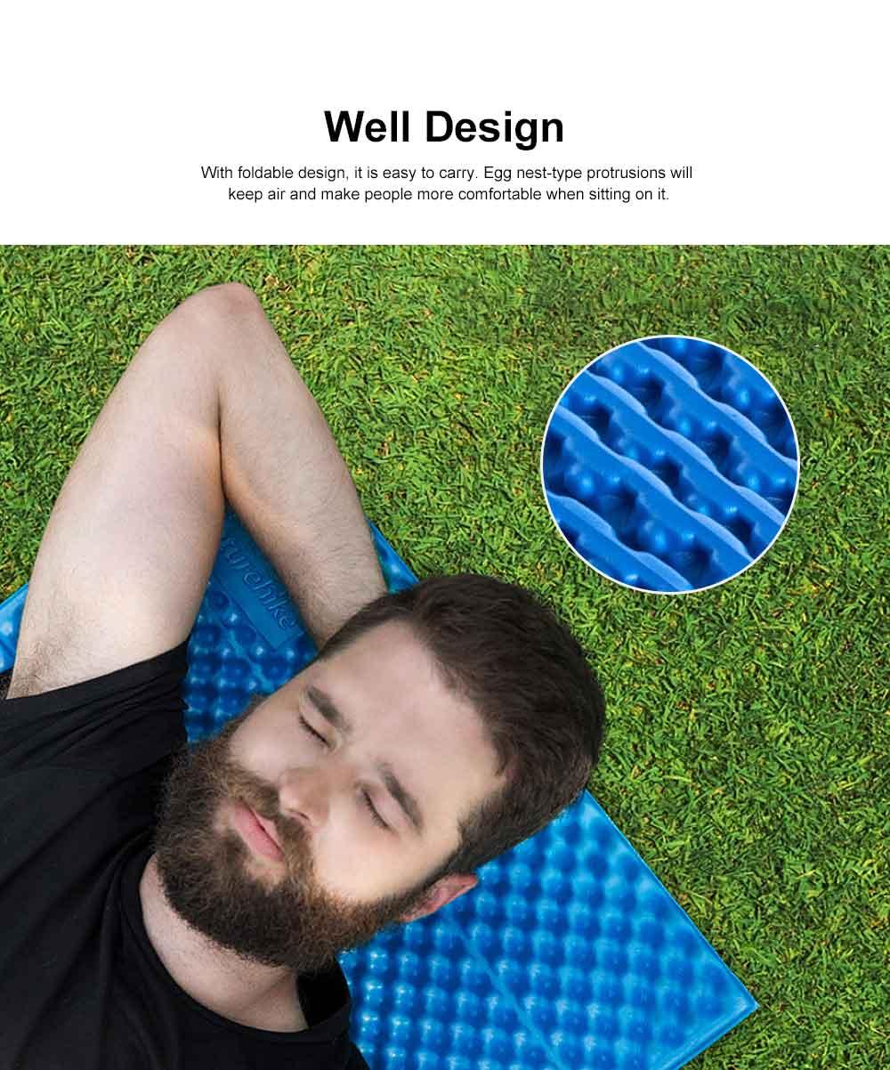 Moisture Proof Sleeping Pad, Portable Eva Aluminum Film Floor Mat, Seat Cushion Pad for Outdoor Camping Picnic 1