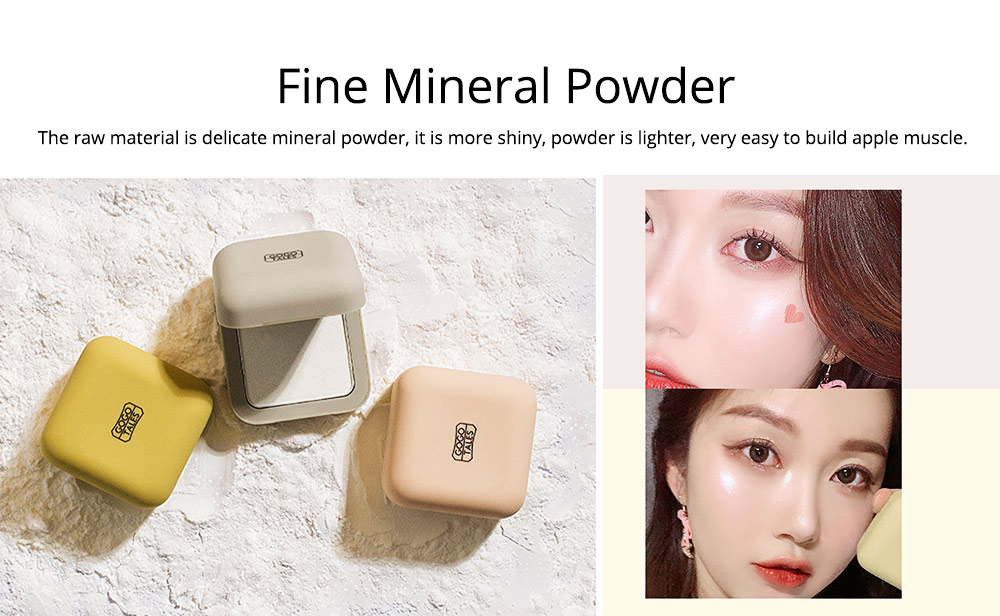 Elegant Rhyme Brightening Powder, Fairy Diamond High Gloss Powder, Cosmetic Disk With Sparkling Pearlescent 1