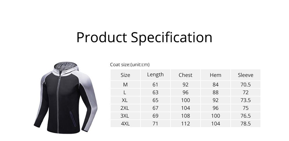 Men 3 Pieces Sports Suits Zip Up Hoodie Slim Fit Workout Hooded Sweatshirts with Zipper Pockets 6