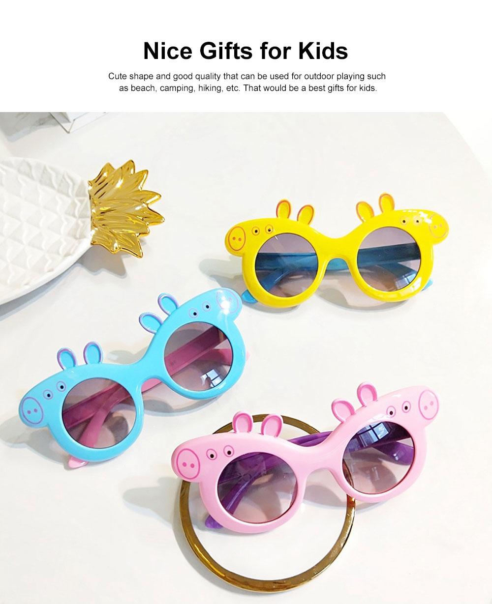 Peppa Pig Cute Sunglasses Children Cartoon UV400 Sun Protection Kid Costume Sunglasses Best Gifts for Kids 1