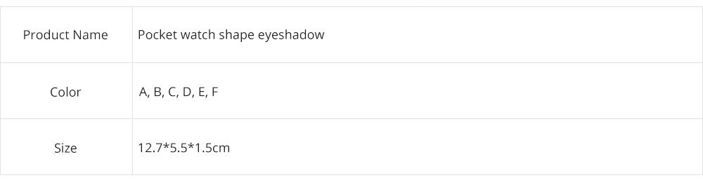 3 Colors Eyeshadow Set, Waterproof Long Lasting Makeup Eyeshadow Palette, Colorful Beauty Cosmetics 6