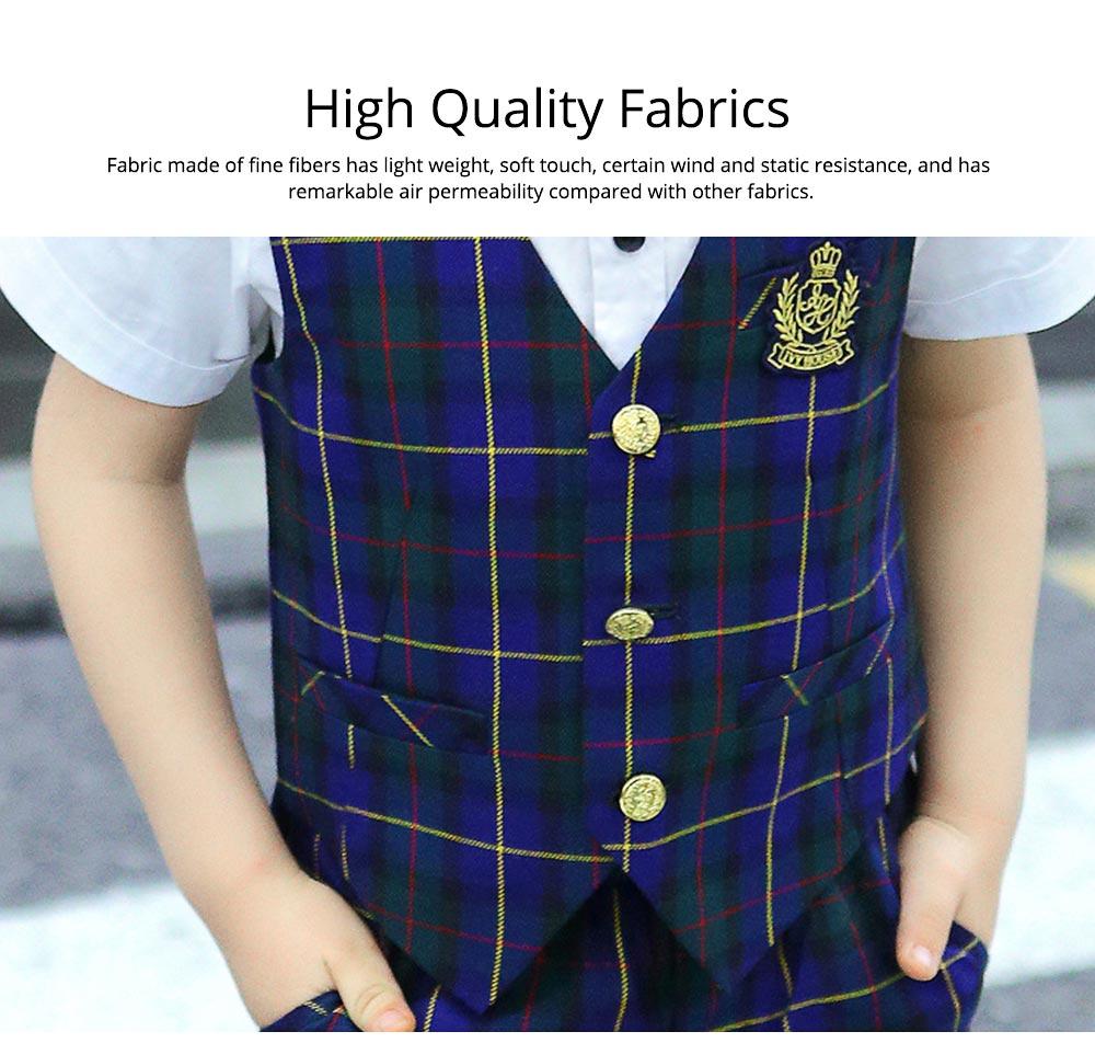 Children's Suit Waistcoat Suit, Korean Flower Children's Dress Suit, Handsome Boy Suit 1