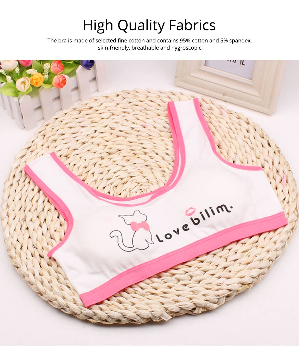 Girl Cotton Bra, Girl Developmental Vest, Wrap Your Chest With A Chest Pad For Junior And Senior High School Students 1