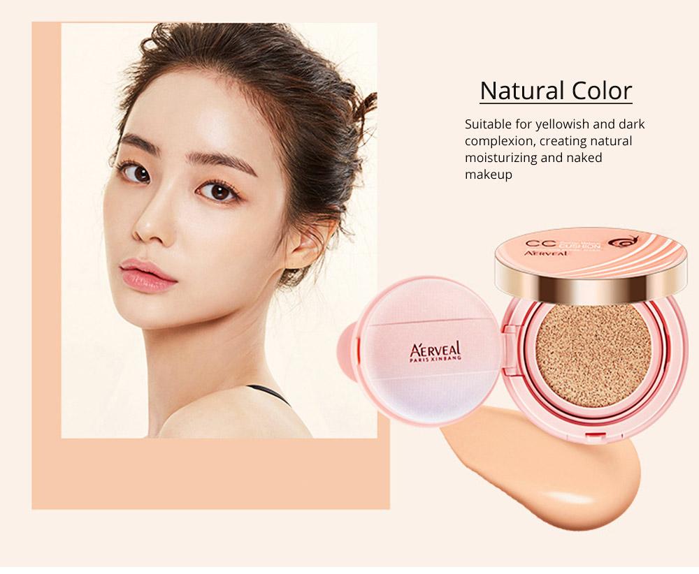 Naked Makeup Concealed Isolation, Moisturizing Make up Foundation BB Creamfor, Moistening Stereotype Breathing Air Cushion 2