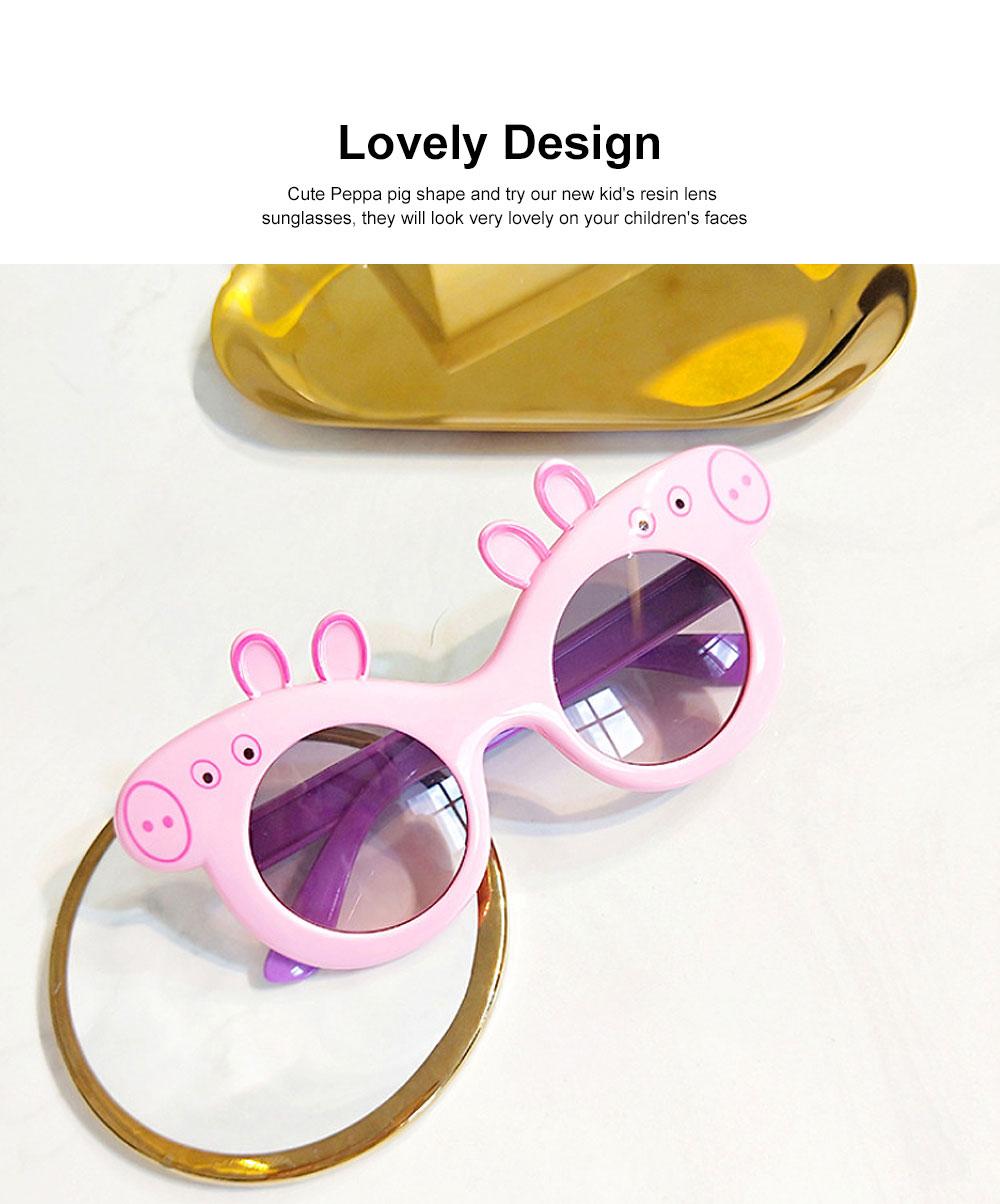Peppa Pig Cute Sunglasses Children Cartoon UV400 Sun Protection Kid Costume Sunglasses Best Gifts for Kids 2