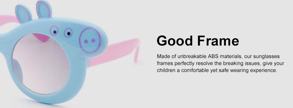 Peppa Pig Cute Sunglasses Children Cartoon UV400 Sun Protection Kid Costume Sunglasses Best Gifts for Kids 5
