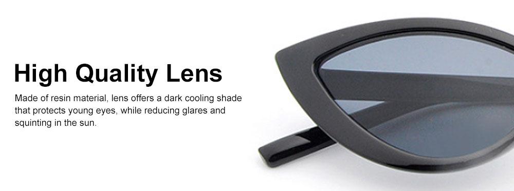 Women's Retro Cat Eye Sunglasses 100% UV protection Resin Lens Dark Sunglasses Best Gifts for Women 4