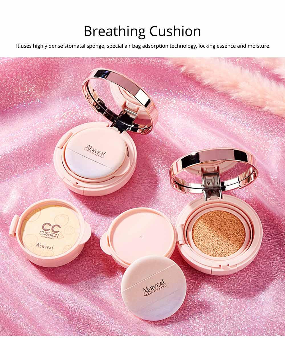 Naked Makeup Concealed Isolation, Moisturizing Make up Foundation BB Creamfor, Moistening Stereotype Breathing Air Cushion 3