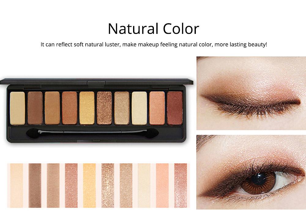 NOVO Ten Color Eye Shadow Palette, Long Lasting Eyeshadow Eye Shadow Kit, Girls Eye Makeup Beauty 5