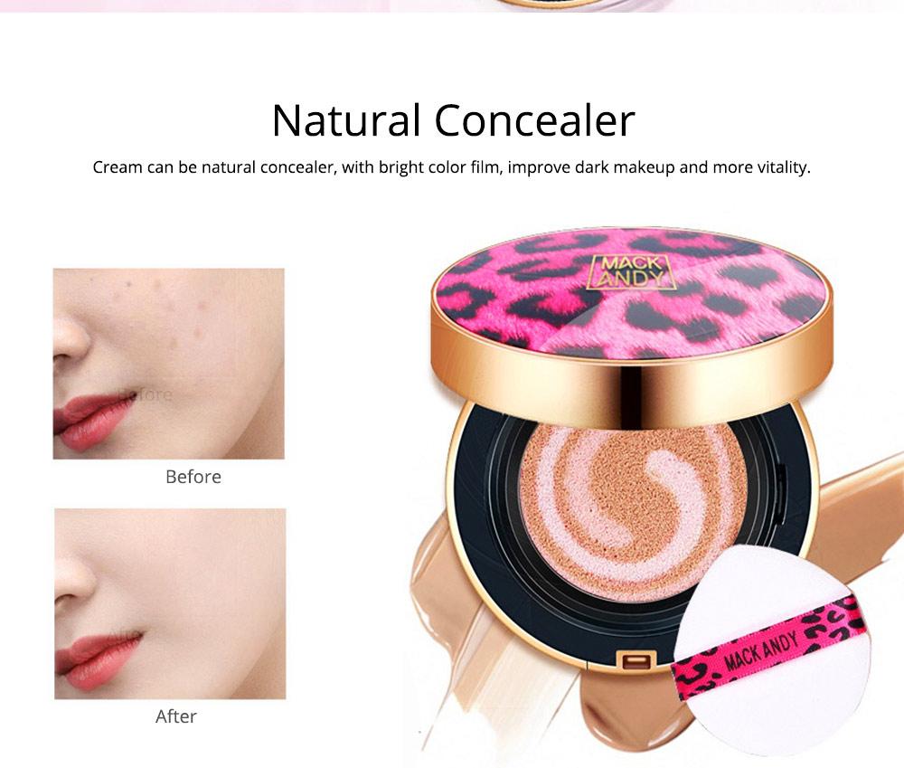 Tri-color Pink Air Cushion BB Cream, Concealer Moisturizing Oil Control Makeup Make Up Foundation Cream 2