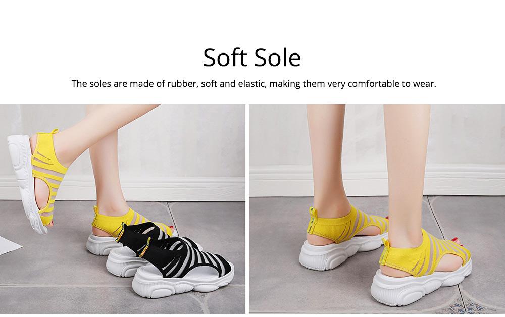Ladies' Open Toe Sandals, Fish Mouth Shoes, Thick Soles Sport Sandals for Women 3
