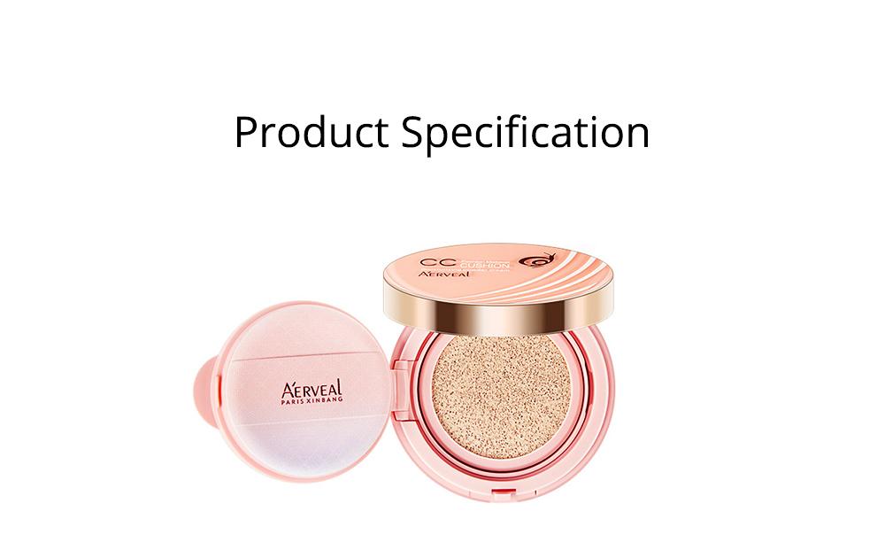 Naked Makeup Concealed Isolation, Moisturizing Make up Foundation BB Creamfor, Moistening Stereotype Breathing Air Cushion 7