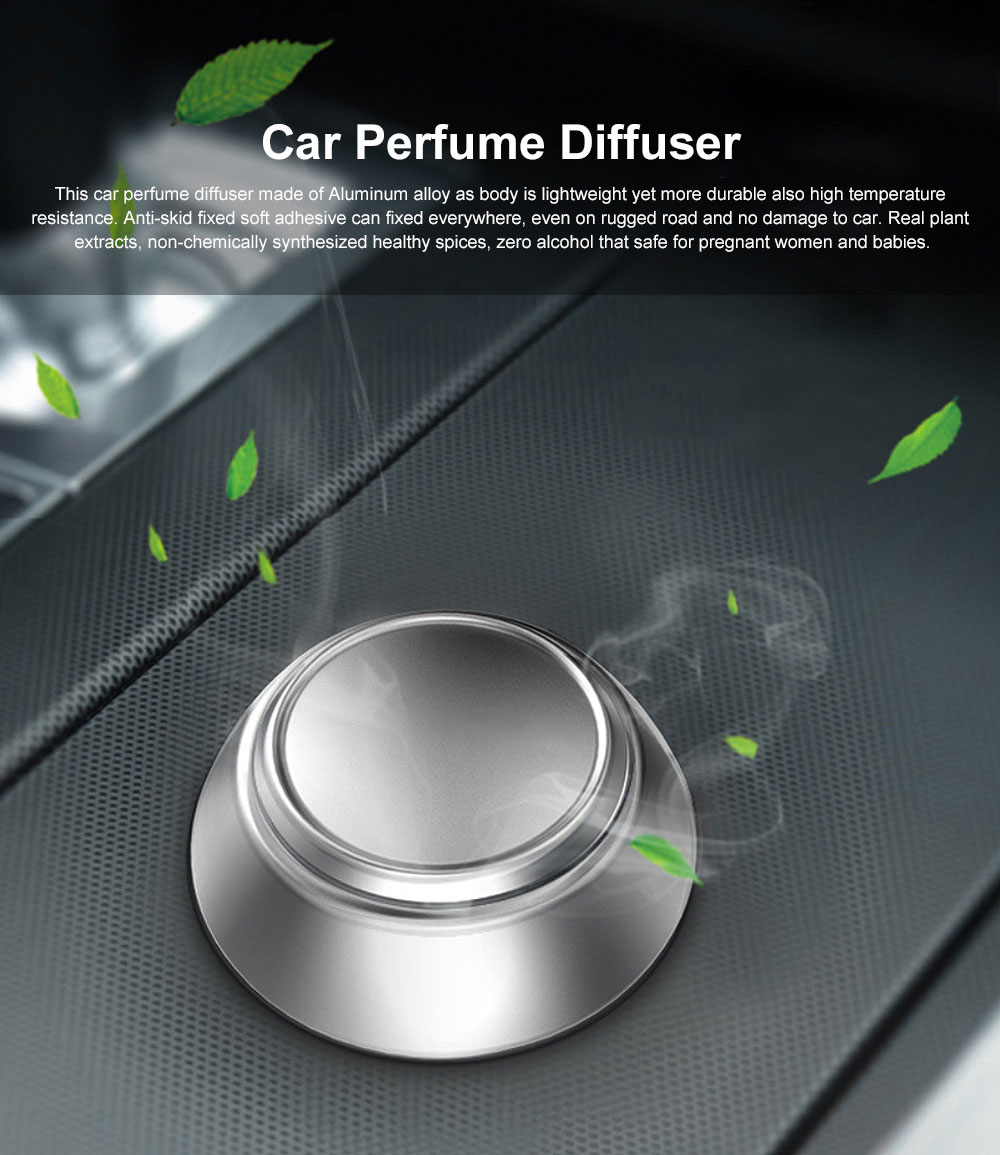 Seating Type Car Perfume Diffuser Car Solid Essential Oil Fragrance Diffuser Lasting Light Fragrance Solid Balm for Removing Smoke and Bad Odors 0