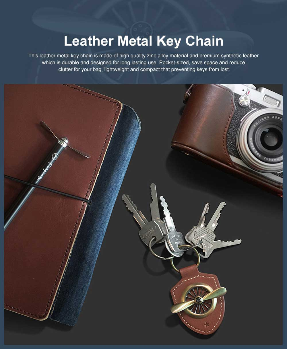 Leather Metal Key Chain Air Force No.2 Keychain Key Ring Men Fashion Accessories Gifts for Boyfriend Men 0