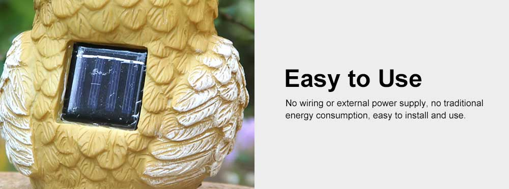 Solar Garden Light Animal LED Lamp Waterproof Outdoor Lights Ornament for Garden, Lawn, Aisle, Porch, Courtyard or Tent 5