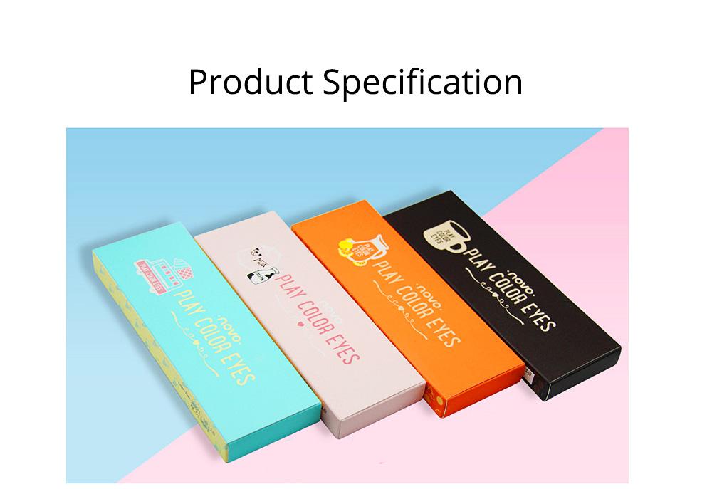 NOVO Ten Color Eye Shadow Palette, Long Lasting Eyeshadow Eye Shadow Kit, Girls Eye Makeup Beauty 7