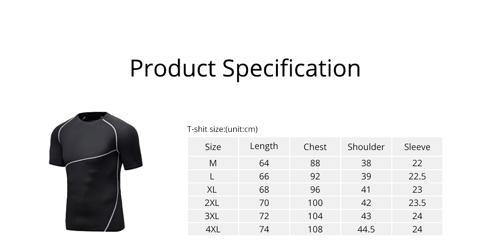 Men 2 Pieces Sports Suits, O-neck Slim Fit Workout Short Sleeve Sports T-short Cropped Pant with Zipper Pockets 6