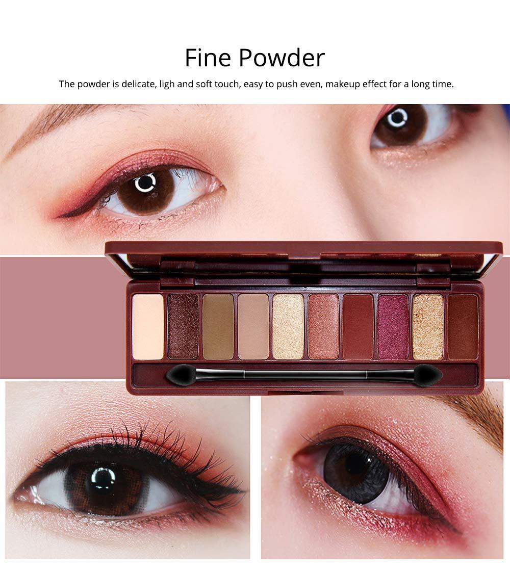 NOVO Ten Color Eye Shadow Palette, Long Lasting Eyeshadow Eye Shadow Kit, Girls Eye Makeup Beauty 4