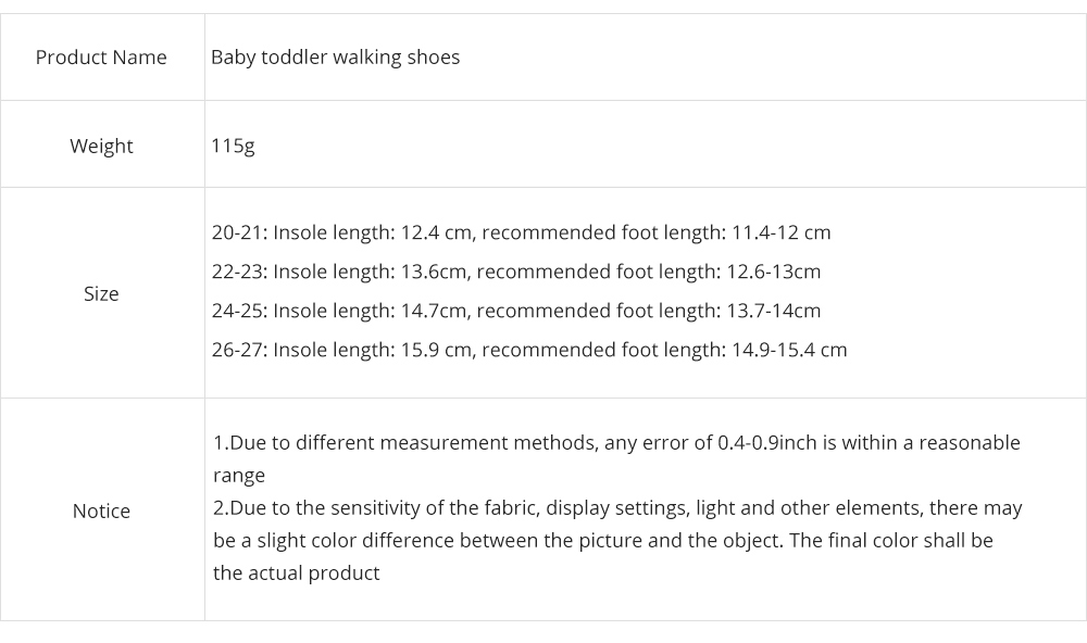 Baby Toddler Walking Shoes, Non-skid Socks Rubber Sole Breathable Cotton Indoor Floor Slipper, Walk Socks Shoes 9