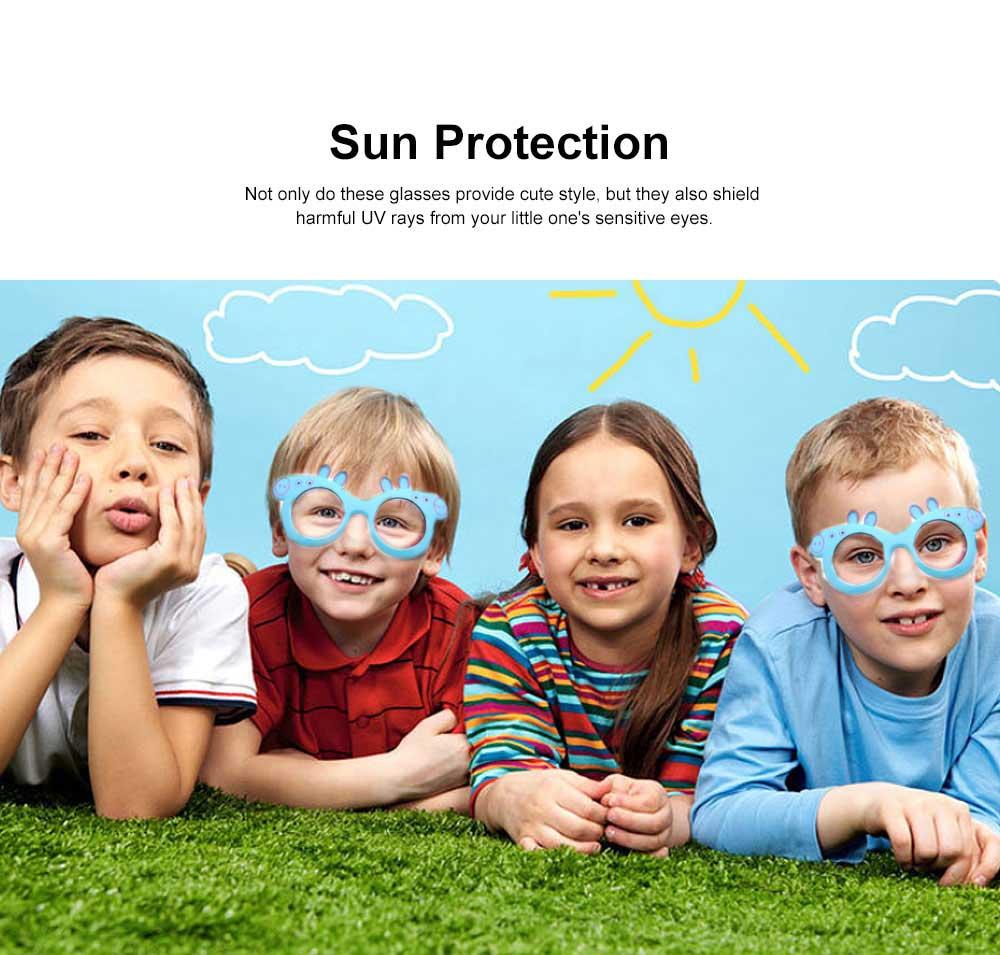 Peppa Pig Cute Sunglasses Children Cartoon UV400 Sun Protection Kid Costume Sunglasses Best Gifts for Kids 3