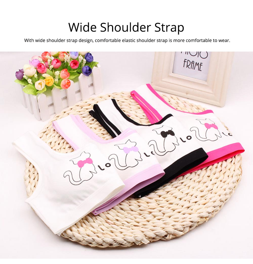 Girl Cotton Bra, Girl Developmental Vest, Wrap Your Chest With A Chest Pad For Junior And Senior High School Students 3