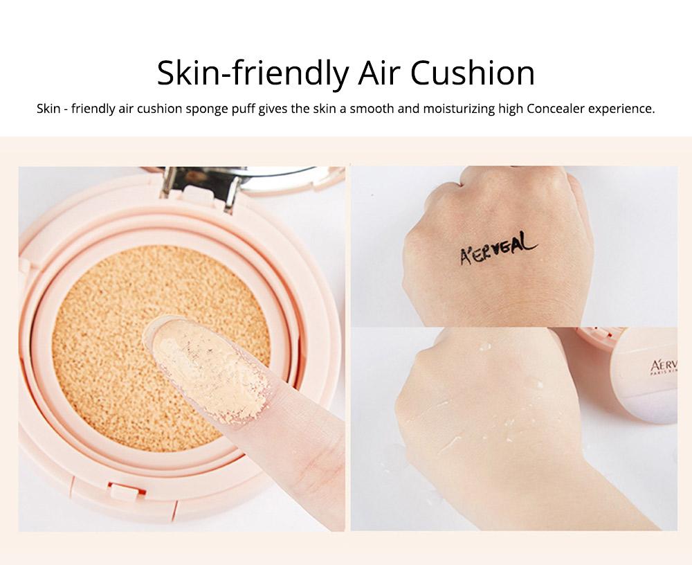 Naked Makeup Concealed Isolation, Moisturizing Make up Foundation BB Creamfor, Moistening Stereotype Breathing Air Cushion 4