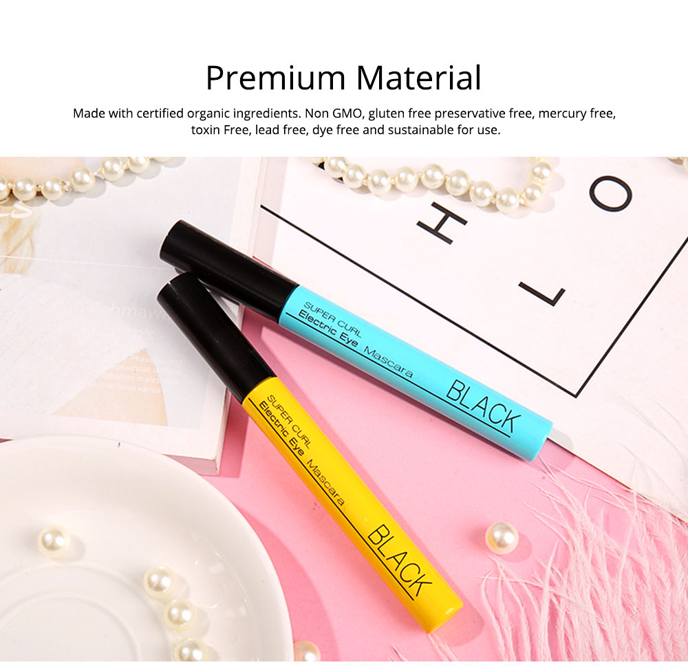Waterproof Mascara Makeup Eyelash Extension Sweat proof Long Curling Thick Long-Lasting Dramatic Eyelashes Extension 4
