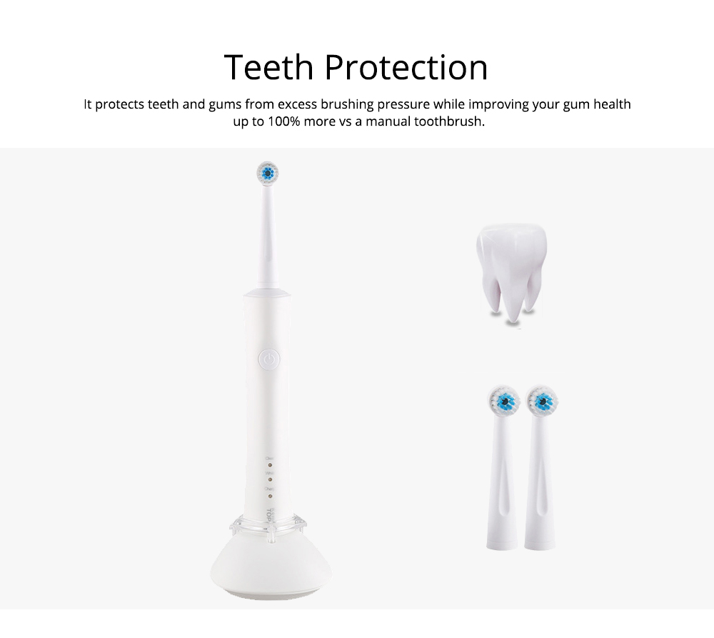Rechargeable Electric Toothbrush For Teeth Cleansing Protection Ultra Whitening Automatic Inductive toothbrush for Adult Kid 3