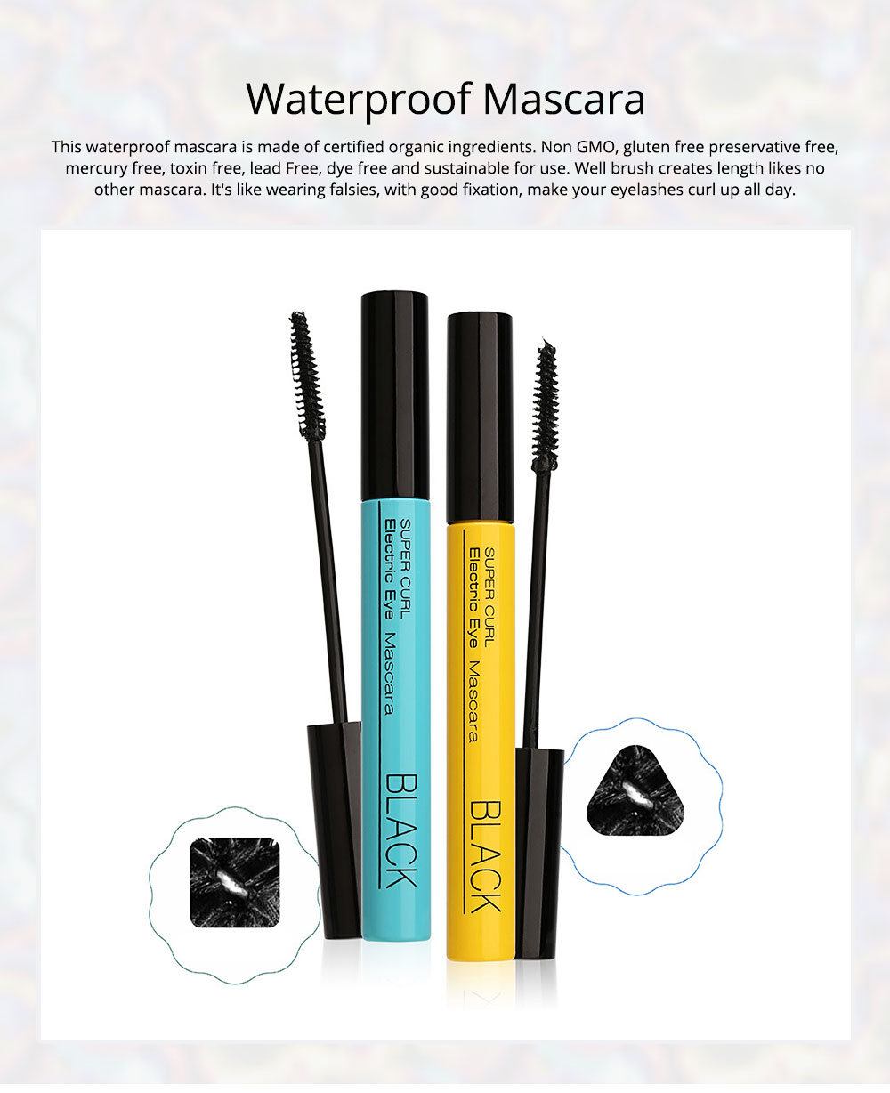 Waterproof Mascara Makeup Eyelash Extension Sweat proof Long Curling Thick Long-Lasting Dramatic Eyelashes Extension 0