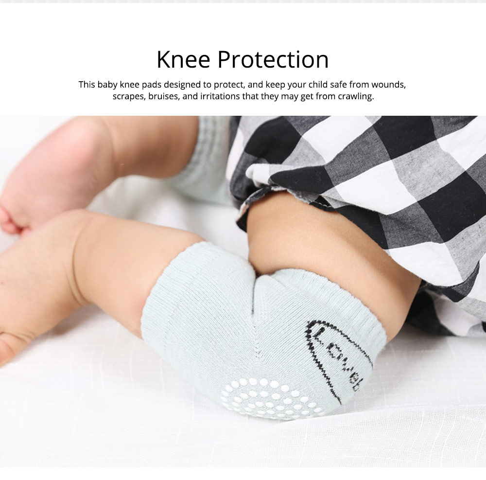 Unisex Baby Anti-slip Kneepads Toddlers Elbow Cushion Safety Protector Suitable for 1-3 Years Old 1