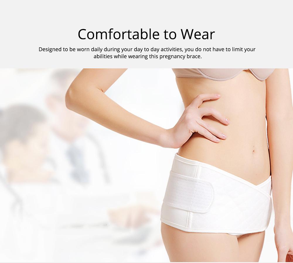 Postpartum Pelvic Belt Breathable Lower Back and Pelvic Support Postpartum Abdomen Care Belt for Postpartum Recovery 2