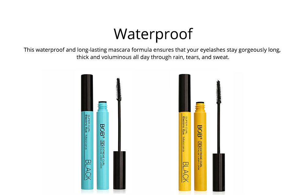Waterproof Mascara Makeup Eyelash Extension Sweat proof Long Curling Thick Long-Lasting Dramatic Eyelashes Extension 5