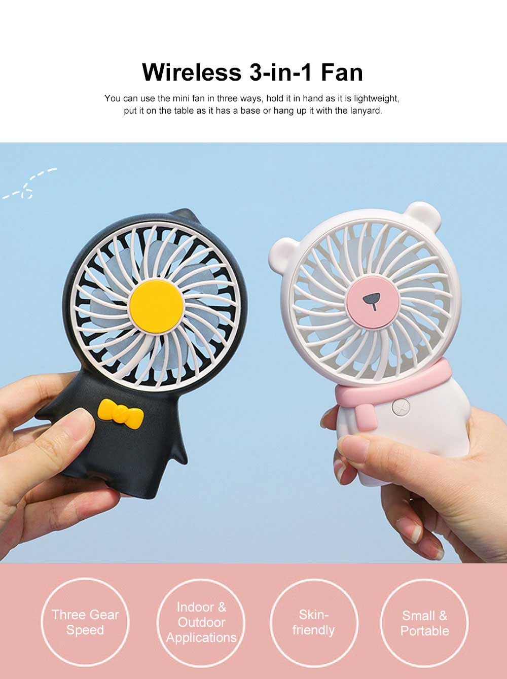Nano Sprayer for Face Caring Summer Refreshing Set, Portable USB Charging Mini Fan and Facial Sprayer 6