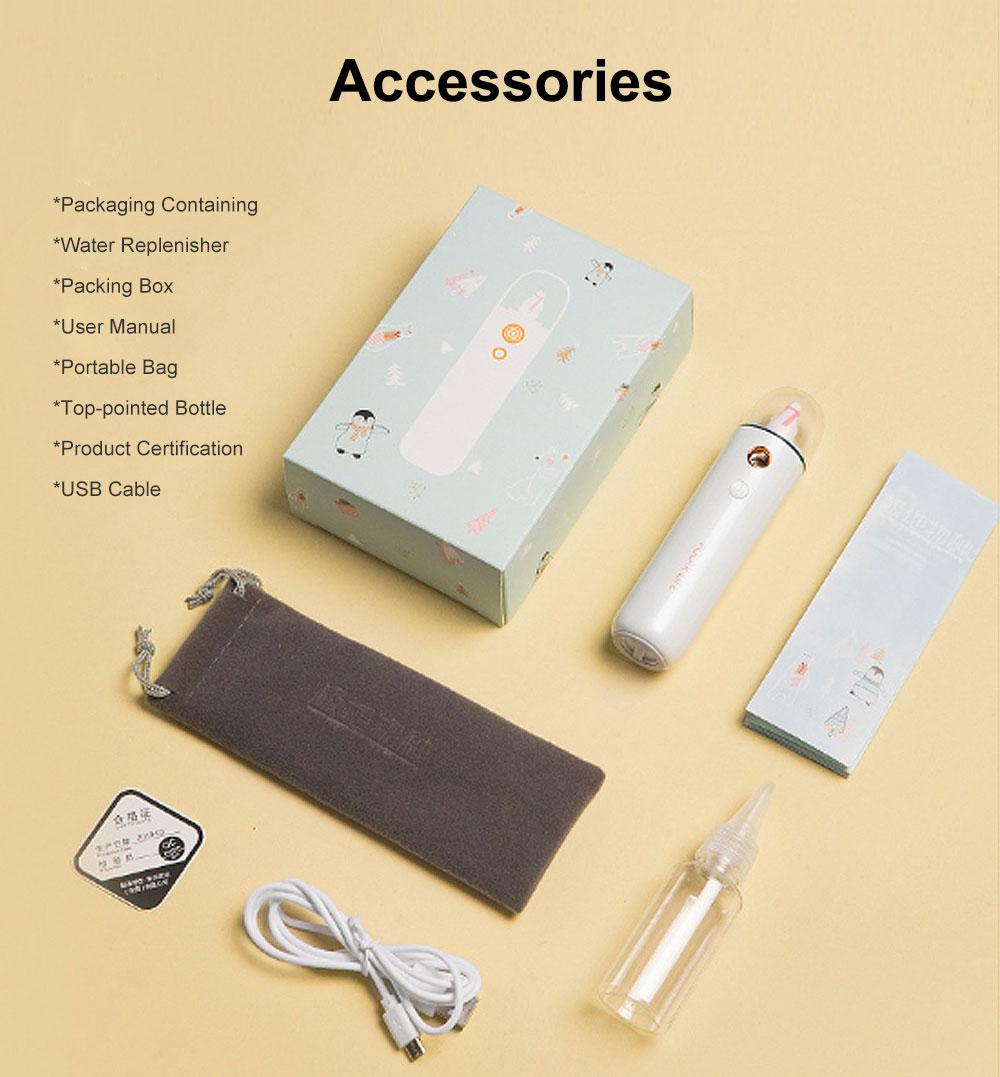 Mini Face Humidifier Nano Spray Hydrator USB Rechargeable Portable Facial Sprayer Machine for Face Skin Caring 8