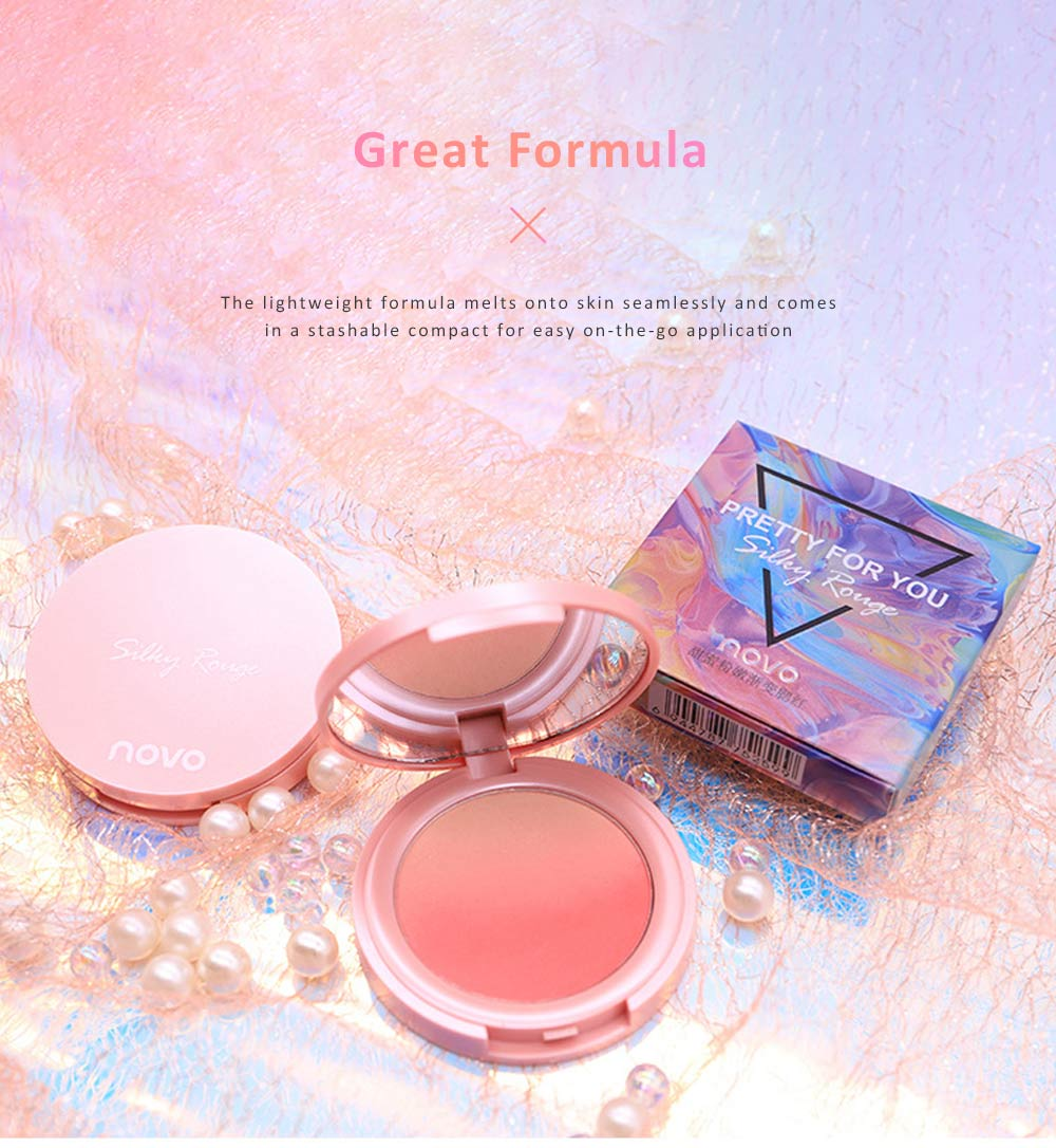 Cheek Powder Blush Professional High Definition Blush Contouring Blusher Makeup Box 8