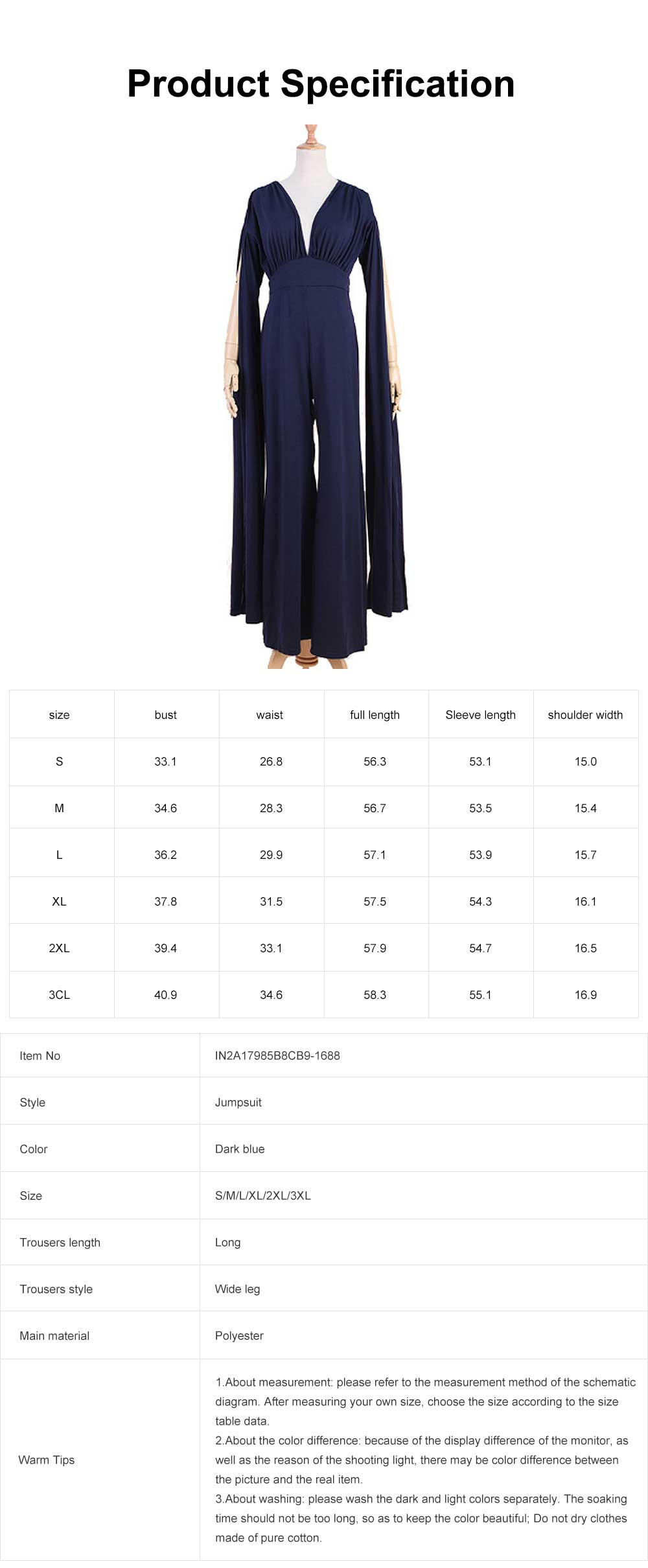 2019 Backless Jumpsuit For Lady, Women's Fashion Sexy Party Evening Bodysuits Rompers, Long Sleeve and Loose Trousers 6