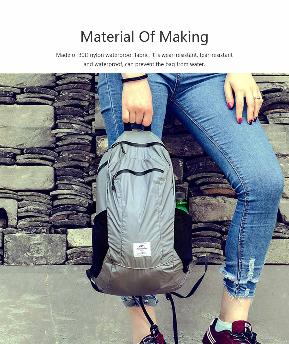 Outdoor Waterproof Sports Foldable Backpack Day Pack Portable Travel Lightweight Mountaineering Backpack Bags 1