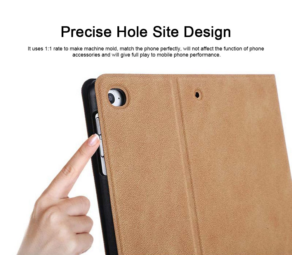 iPad Protective Case, Lightweight Protection Shell Cover, Resistance PU Leather Case for ipad Air 1, Air 2, 2017 or 2018 New iPad, iPad 2, 3, 4, Mini 1, 2, 3, Mini 4, Mini 5 3