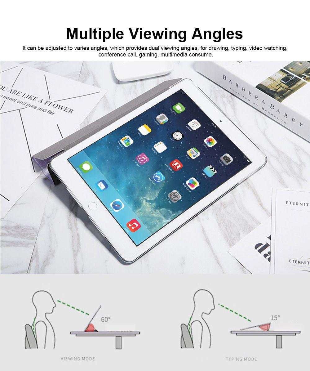 iPad Auto Sleep Awake Smart Case, Intelligent Sleep Protection Cover for iPad Air 1 Air 2, 2017 & 2018 New iPad, iPad 2 3 4, Mini 1 2 3, Mini 4 3