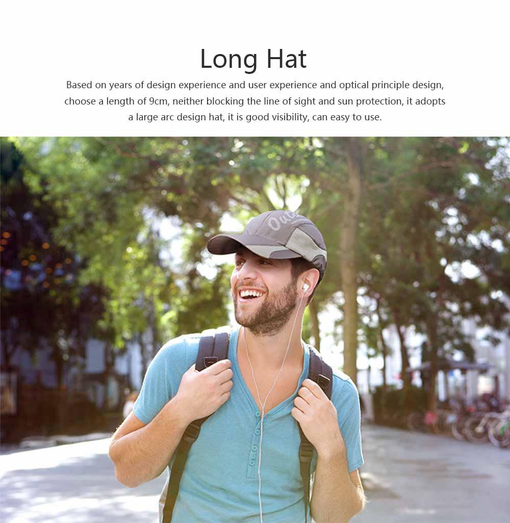Outdoor Sport Running Baseball Mesh Hat Quick-drying Summer Visor Breathable Cap for Camping Hiking 2