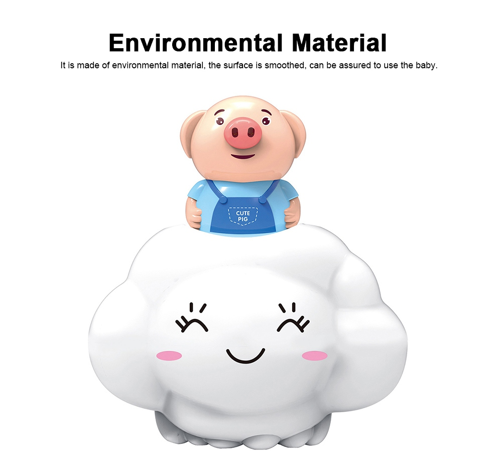 Bath Toy for Children Educational Toys Deer Pig Cloud Shaped Water Playing Toy 1