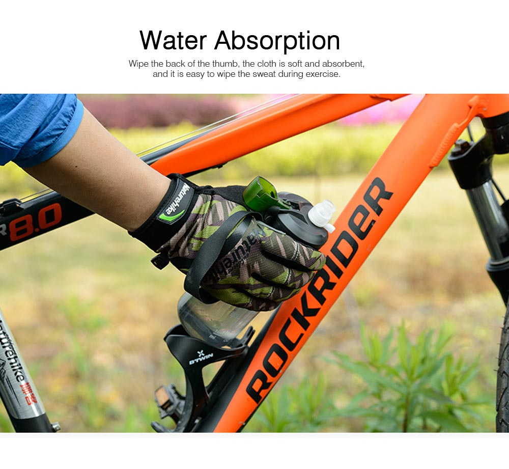Unisex Spring Summer Anti Slip Sun Protection Cycling Climbing Riding Motorcycle Sport Mountain Bike Gloves 4