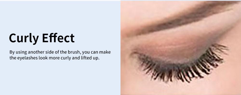 Water & Sweat-proof Mascara, Black Long Lasting Lengthening Thickening Curving Volume Eyelashes Make-up Mascara 5
