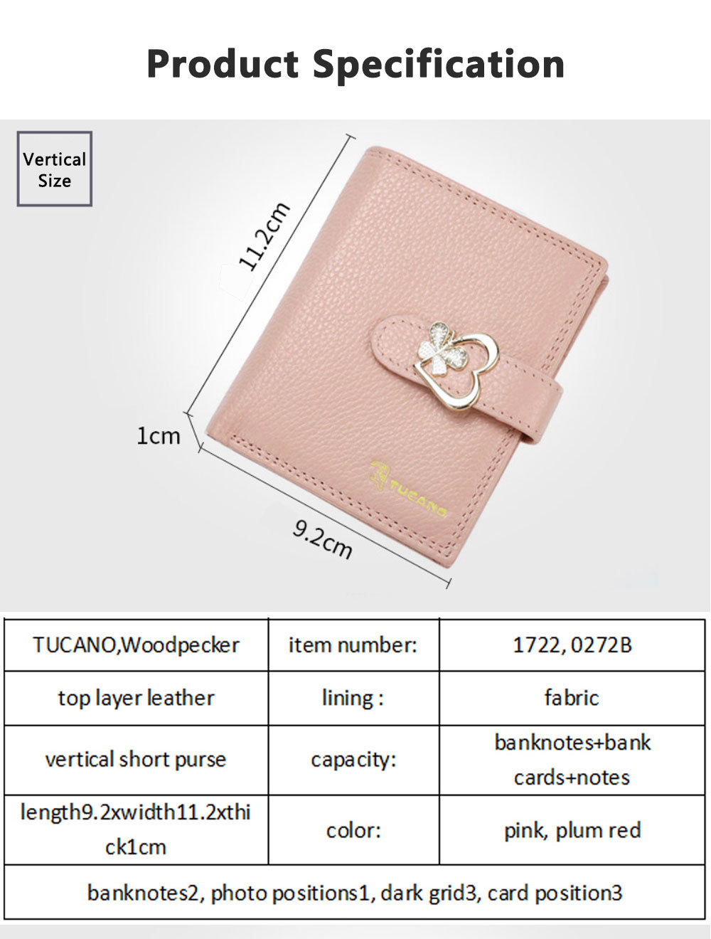 Fashion Women Wallet Girl Mini Cowhide Short Coin Leather Bow Vertical And Horizontal Purse Credit Card Holder Organizer Pocket Classic Solid 2 Fold Type 8